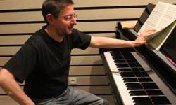 Filippo Nocera au piano