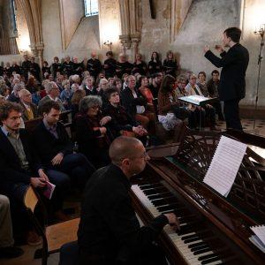 Photo du concert au lycée Heny IV